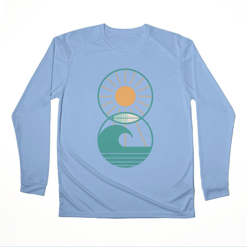 Sun Sea and Surf Women's Longsleeve T-Shirt by thepapercrane's shop