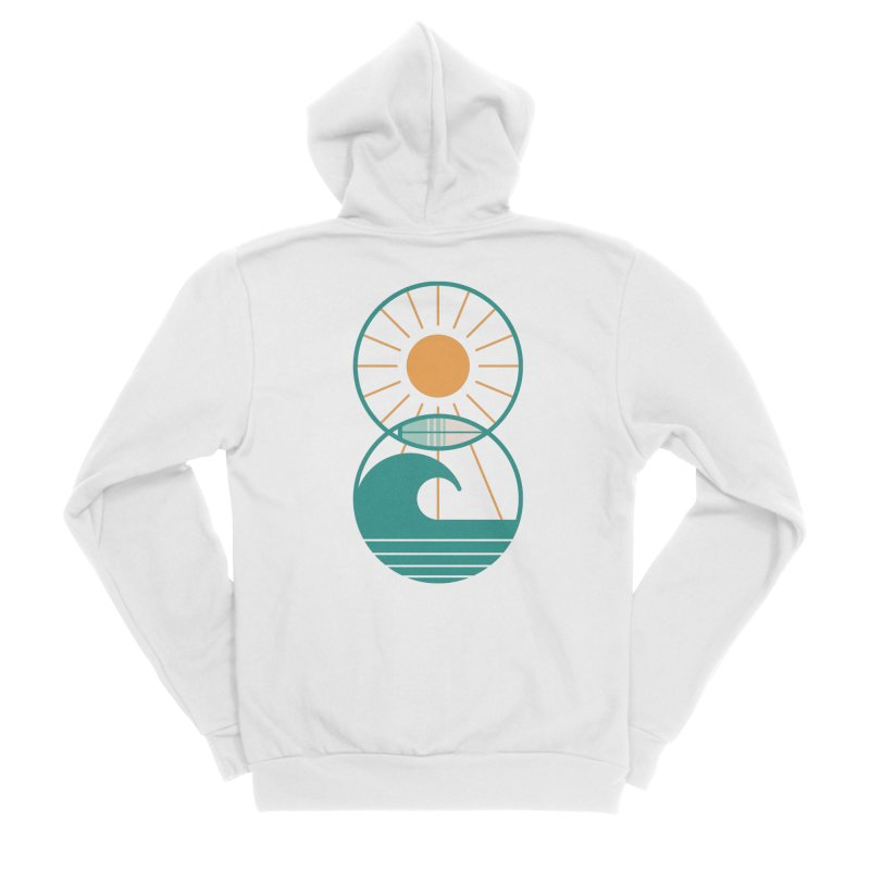 Sun Sea and Surf Women's Zip-Up Hoody by thepapercrane's shop