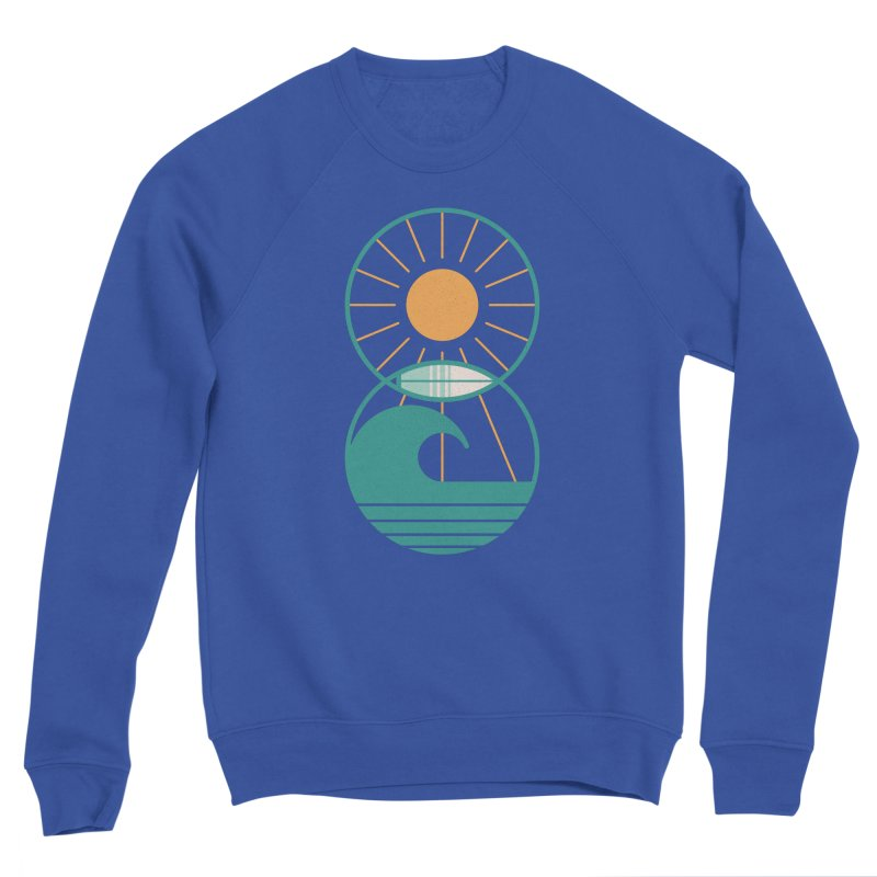 Sun Sea and Surf Men's Sweatshirt by thepapercrane's shop