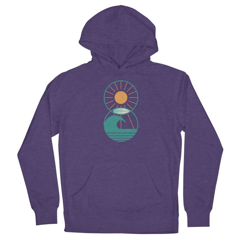 Sun Sea and Surf Men's Pullover Hoody by thepapercrane's shop