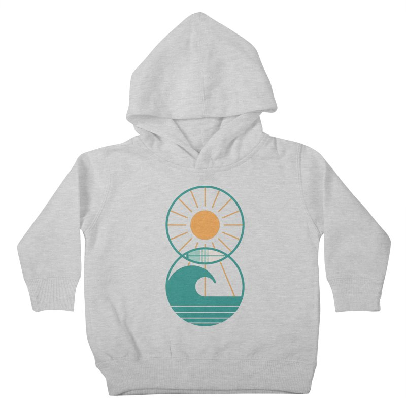 Sun Sea and Surf Kids Toddler Pullover Hoody by thepapercrane's shop
