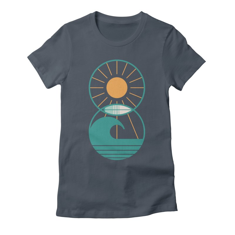 Sun Sea and Surf Women's T-Shirt by thepapercrane's shop