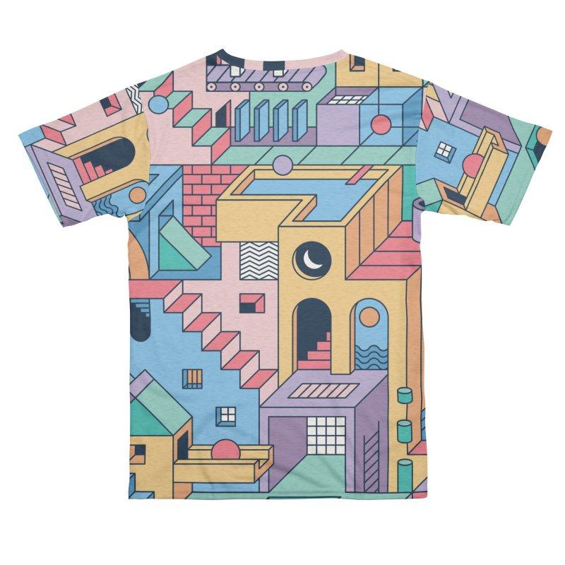 80s Escher Men's Cut & Sew by thepapercrane's shop