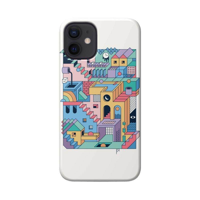 80s Escher Accessories Phone Case by thepapercrane's shop