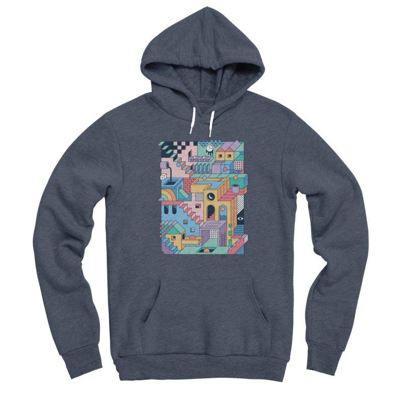 80s Escher Men's Pullover Hoody by thepapercrane's shop