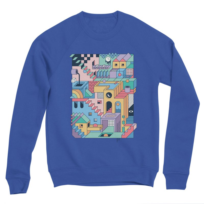 80s Escher Women's Sweatshirt by thepapercrane's shop
