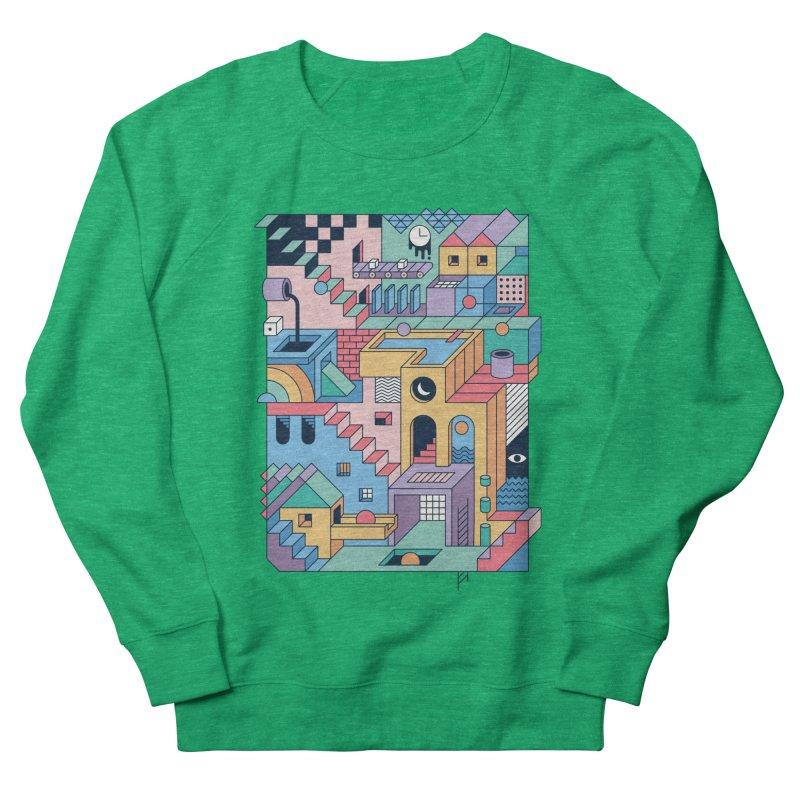80s Escher Women's Sweatshirt by thepapercrane's shop