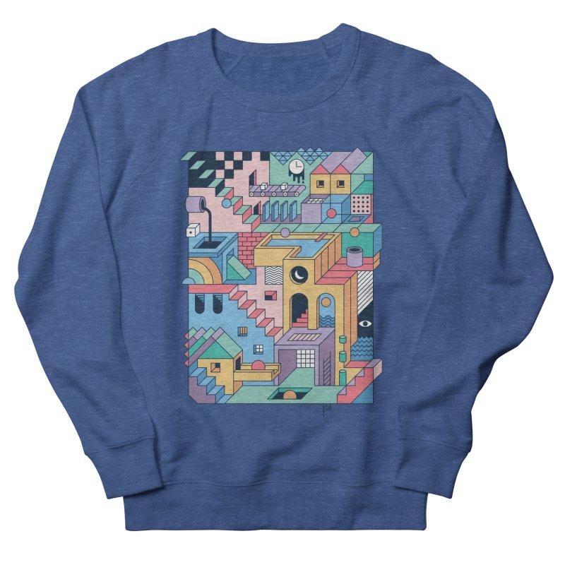 80s Escher Men's Sweatshirt by thepapercrane's shop