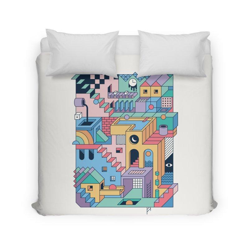 80s Escher Home Duvet by thepapercrane's shop
