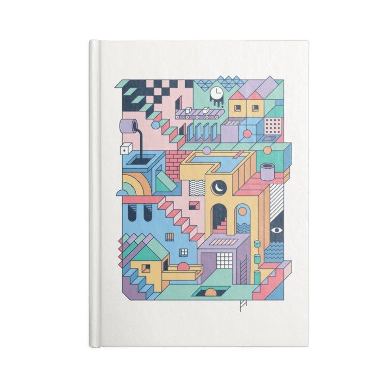 80s Escher Accessories Notebook by thepapercrane's shop
