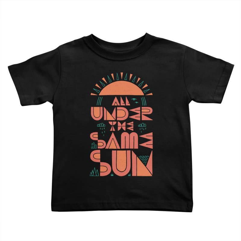 All Under The Same Sun   by thepapercrane's shop