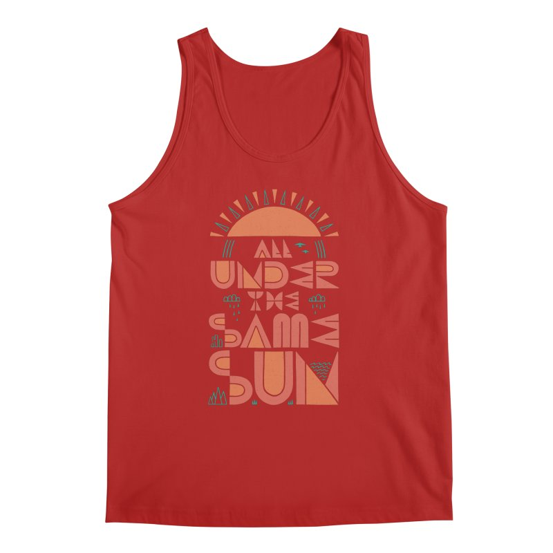 All Under The Same Sun Men's Tank by thepapercrane's shop