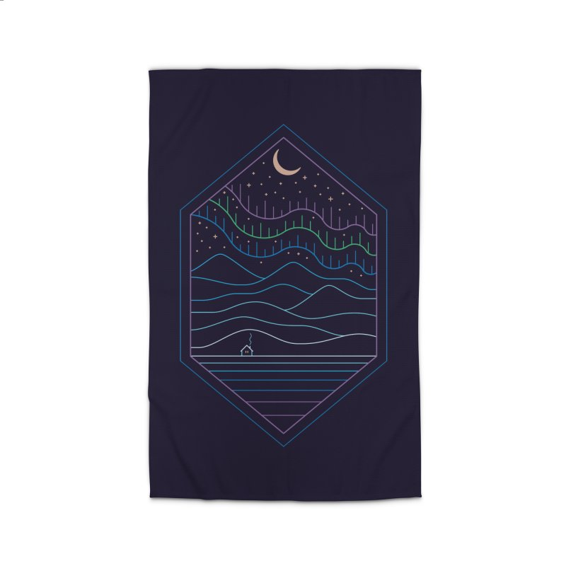 Lights Of The North Home Rug by thepapercrane's shop