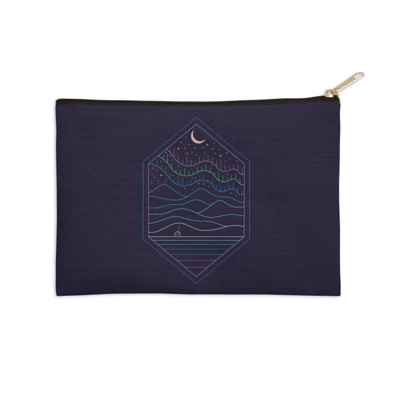 Lights Of The North Accessories Zip Pouch by thepapercrane's shop