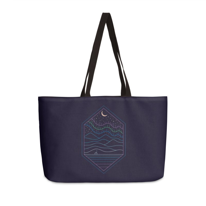 Lights Of The North Accessories Bag by thepapercrane's shop
