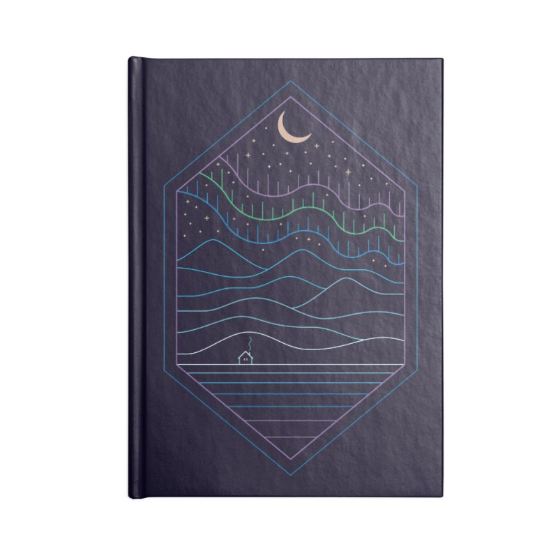 Lights Of The North Accessories Notebook by thepapercrane's shop
