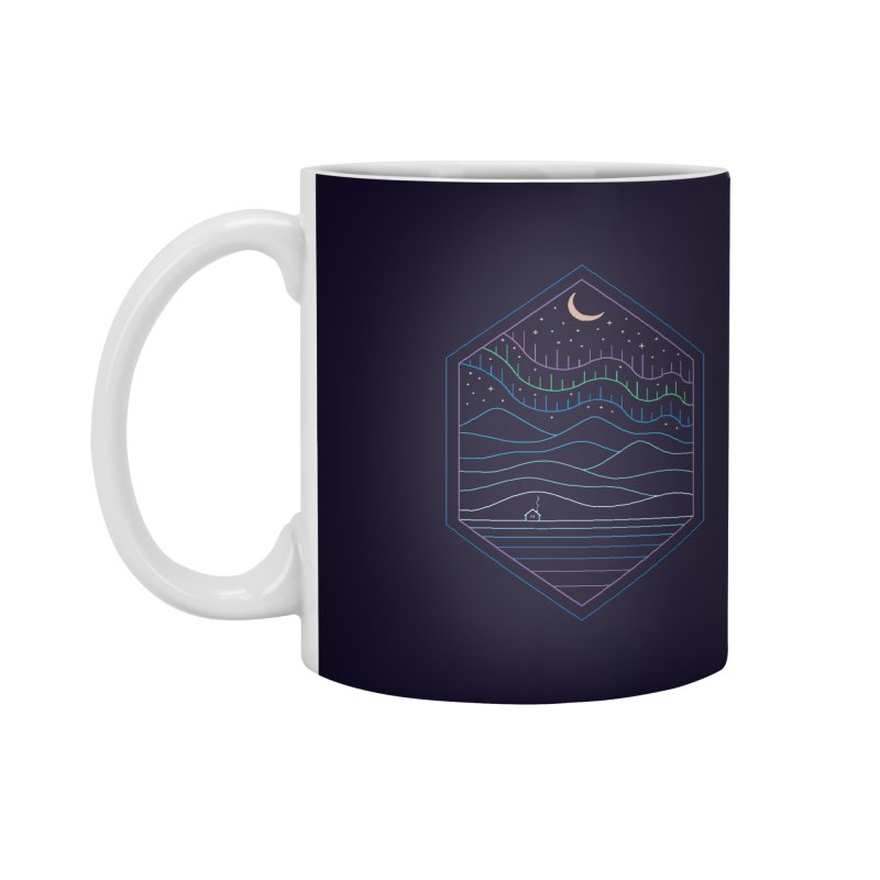 Lights Of The North Accessories Mug by thepapercrane's shop