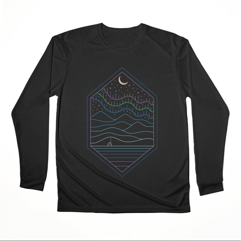 Lights Of The North Women's Longsleeve T-Shirt by thepapercrane's shop