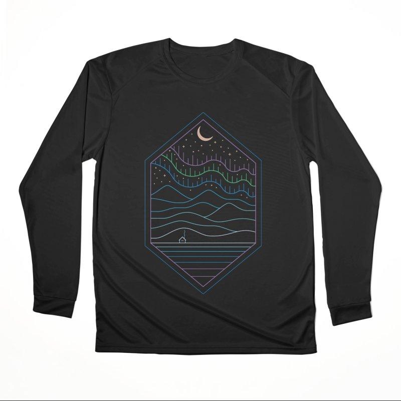 Lights Of The North Men's Longsleeve T-Shirt by thepapercrane's shop