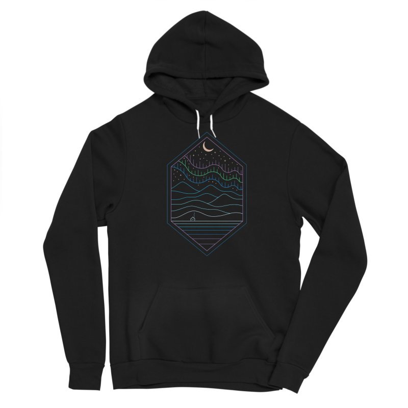 Lights Of The North Men's Pullover Hoody by thepapercrane's shop