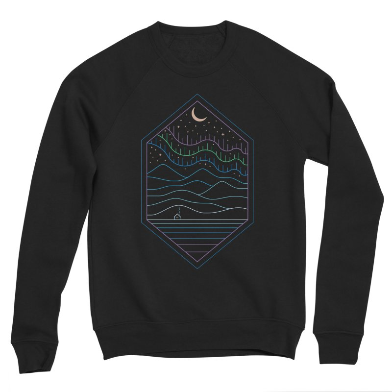 Lights Of The North Men's Sweatshirt by thepapercrane's shop