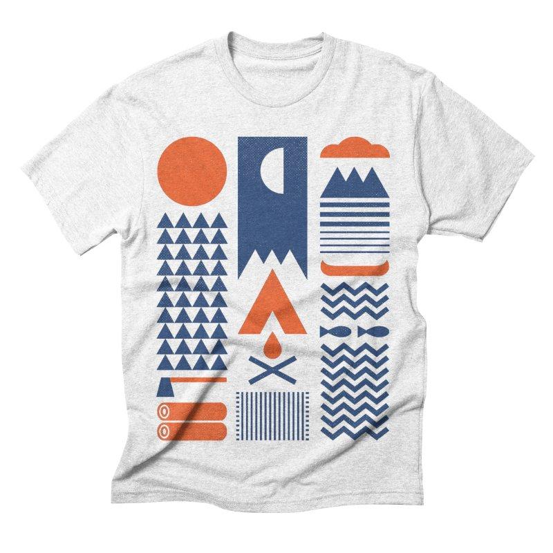 Simplify Men's Triblend T-shirt by thepapercrane's shop