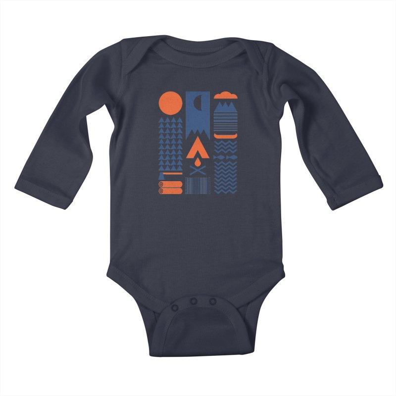 Simplify Kids Baby Longsleeve Bodysuit by thepapercrane's shop