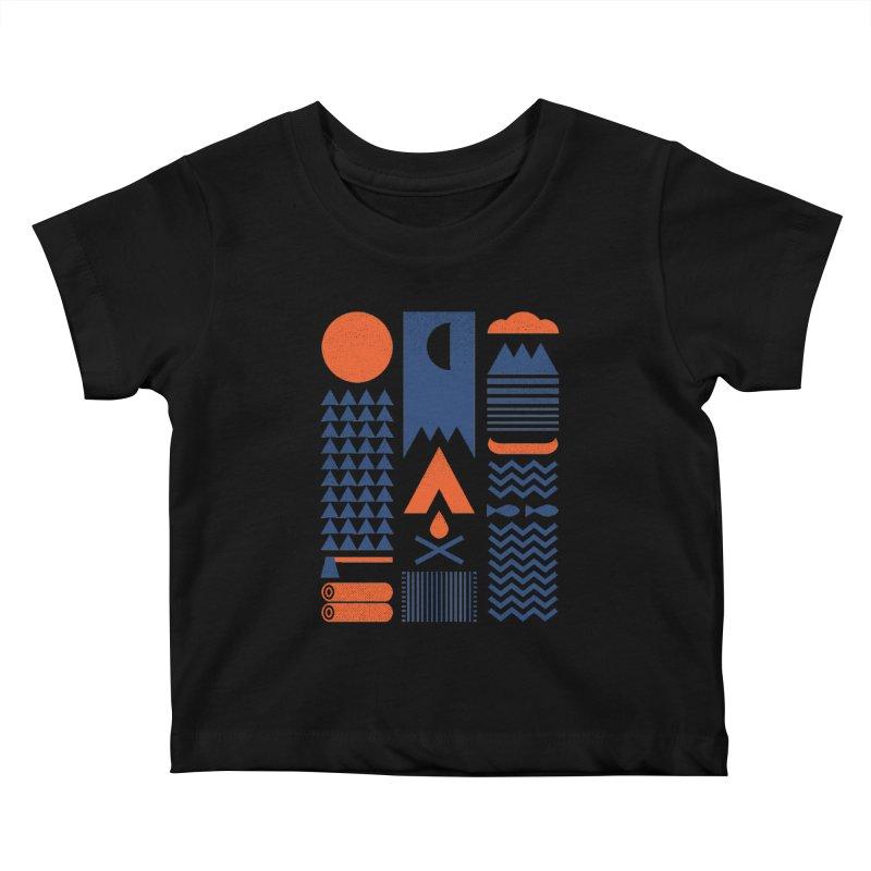 Simplify Kids Baby T-Shirt by thepapercrane's shop