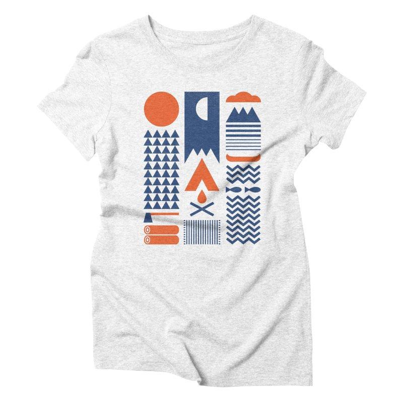Simplify Women's Triblend T-shirt by thepapercrane's shop