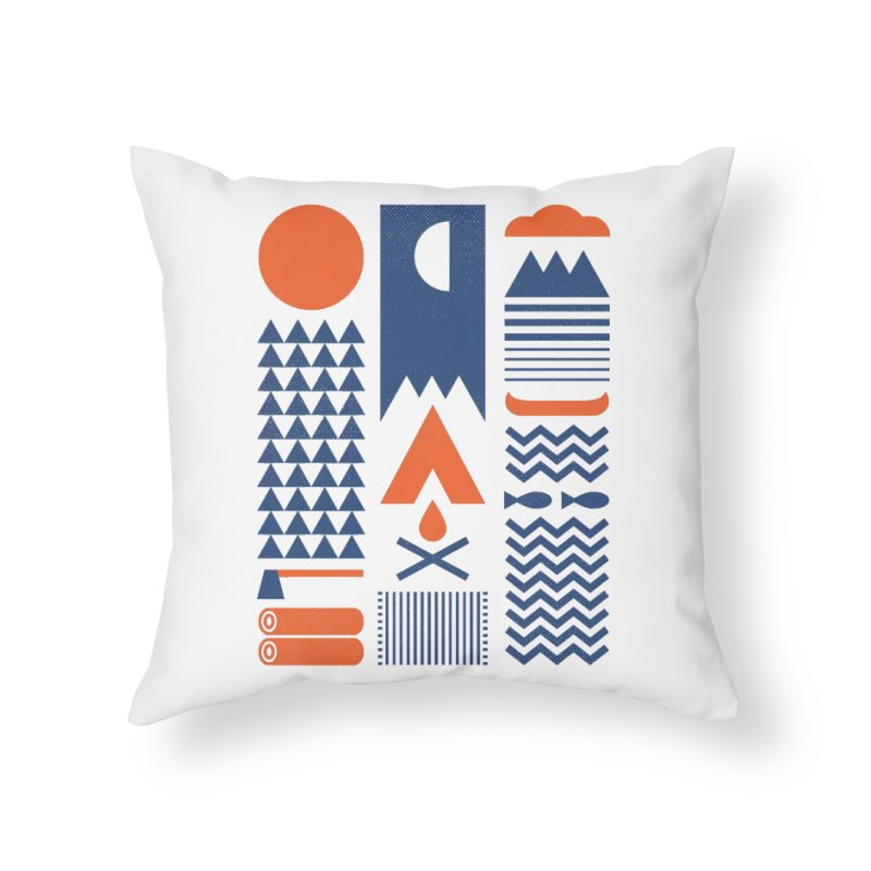 Simplify Home Throw Pillow by thepapercrane's shop