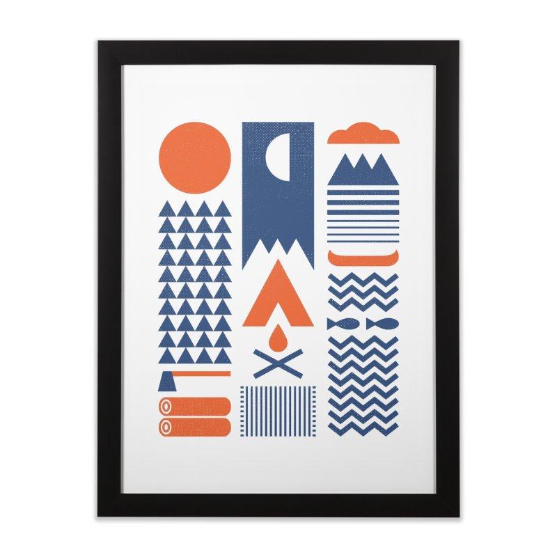 Simplify Home Framed Fine Art Print by thepapercrane's shop