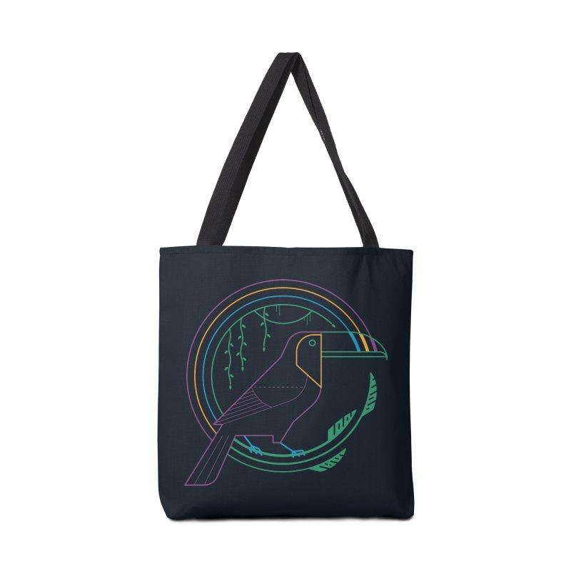 Rainbow Forest Accessories Bag by thepapercrane's shop