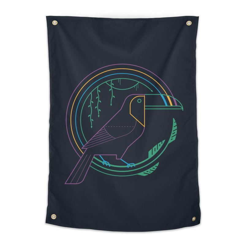 Rainbow Forest Home Tapestry by thepapercrane's shop