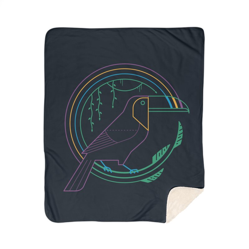 Rainbow Forest Home Blanket by thepapercrane's shop