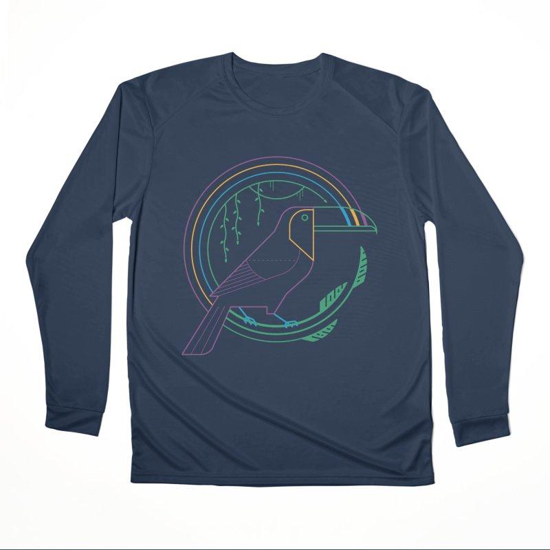 Rainbow Forest Women's Longsleeve T-Shirt by thepapercrane's shop