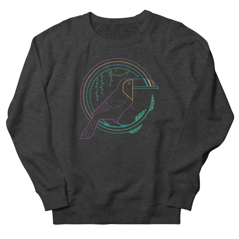 Rainbow Forest Women's Sweatshirt by thepapercrane's shop