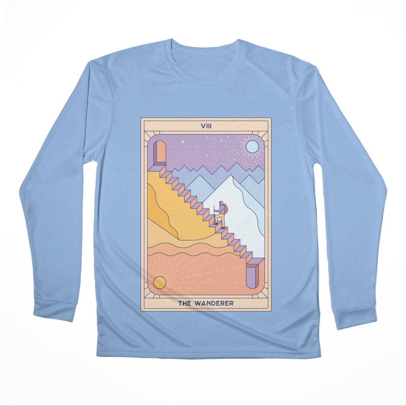 The Wanderer Men's Longsleeve T-Shirt by thepapercrane's shop