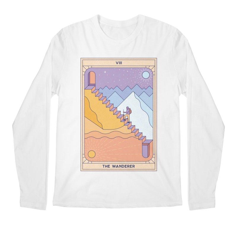 The Wanderer Men's Longsleeve T-Shirt by thepapercrane's shop