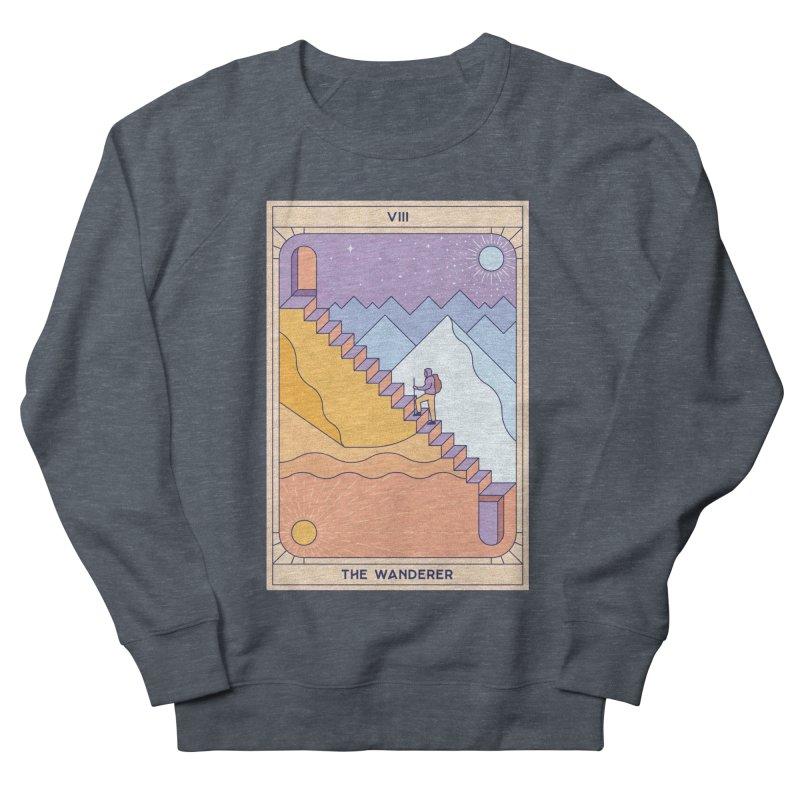 The Wanderer Men's Sweatshirt by thepapercrane's shop