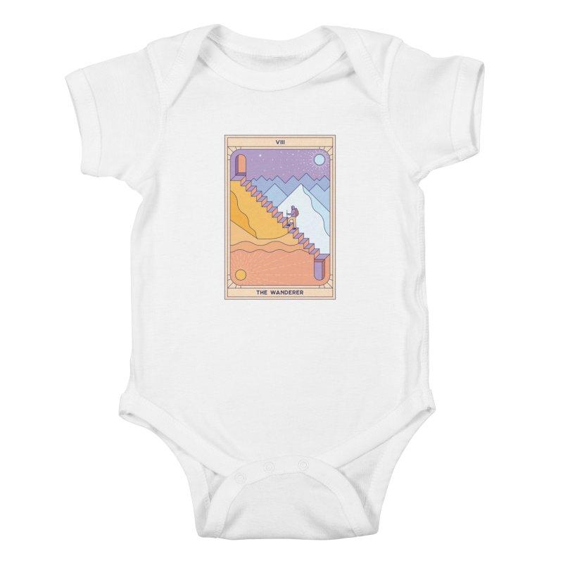 The Wanderer Kids Baby Bodysuit by thepapercrane's shop