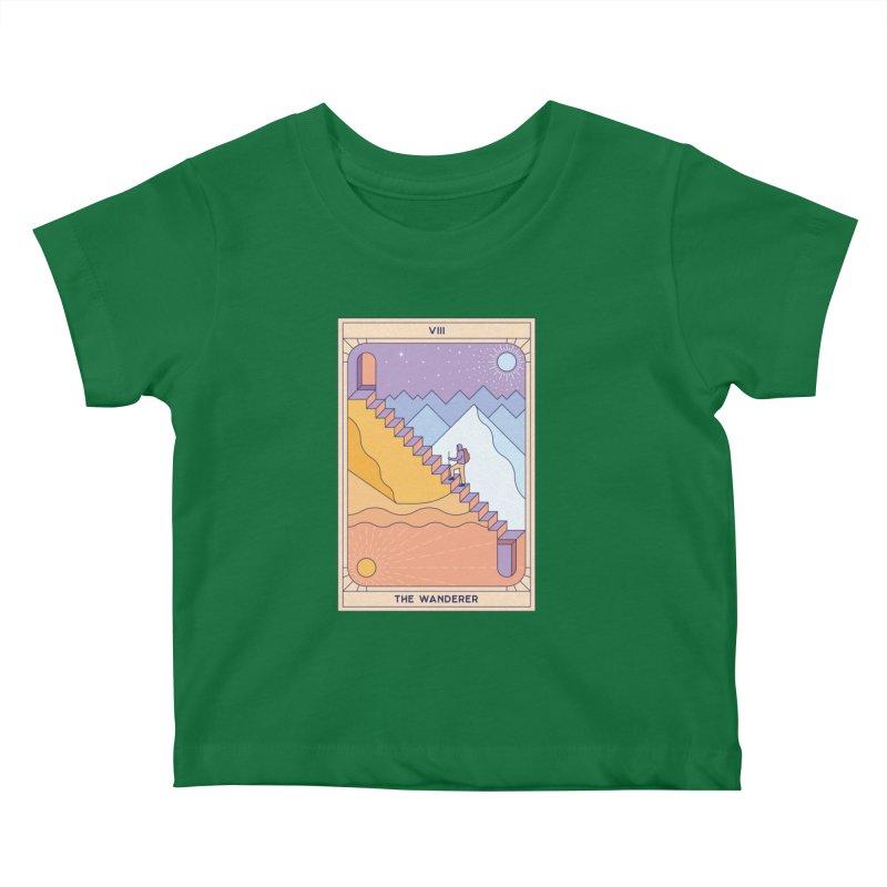 The Wanderer Kids Baby T-Shirt by thepapercrane's shop