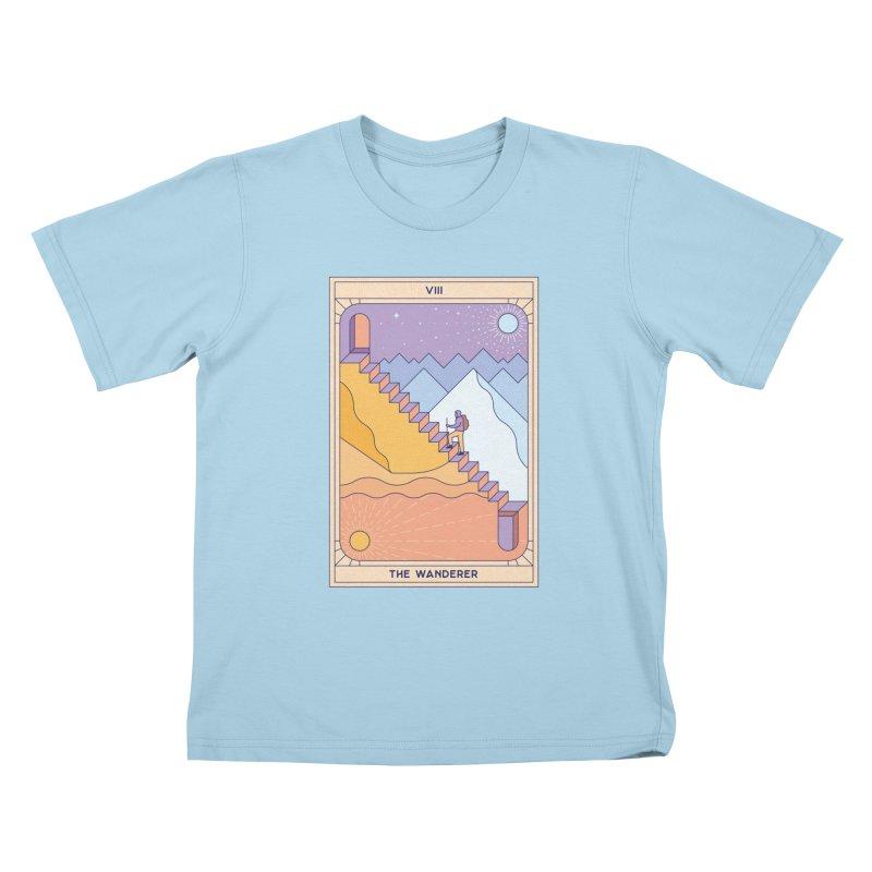 The Wanderer Kids T-Shirt by thepapercrane's shop