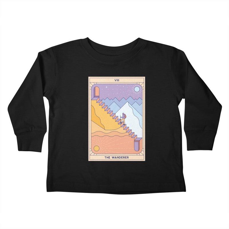 The Wanderer Kids Toddler Longsleeve T-Shirt by thepapercrane's shop