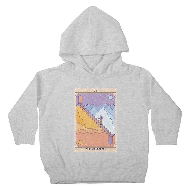 The Wanderer Kids Toddler Pullover Hoody by thepapercrane's shop