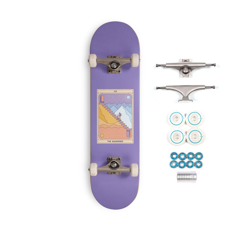 The Wanderer Accessories Skateboard by thepapercrane's shop