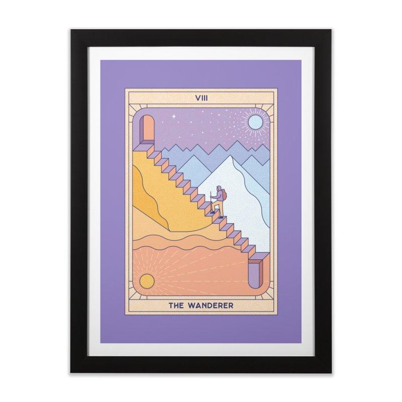 The Wanderer Home Framed Fine Art Print by thepapercrane's shop