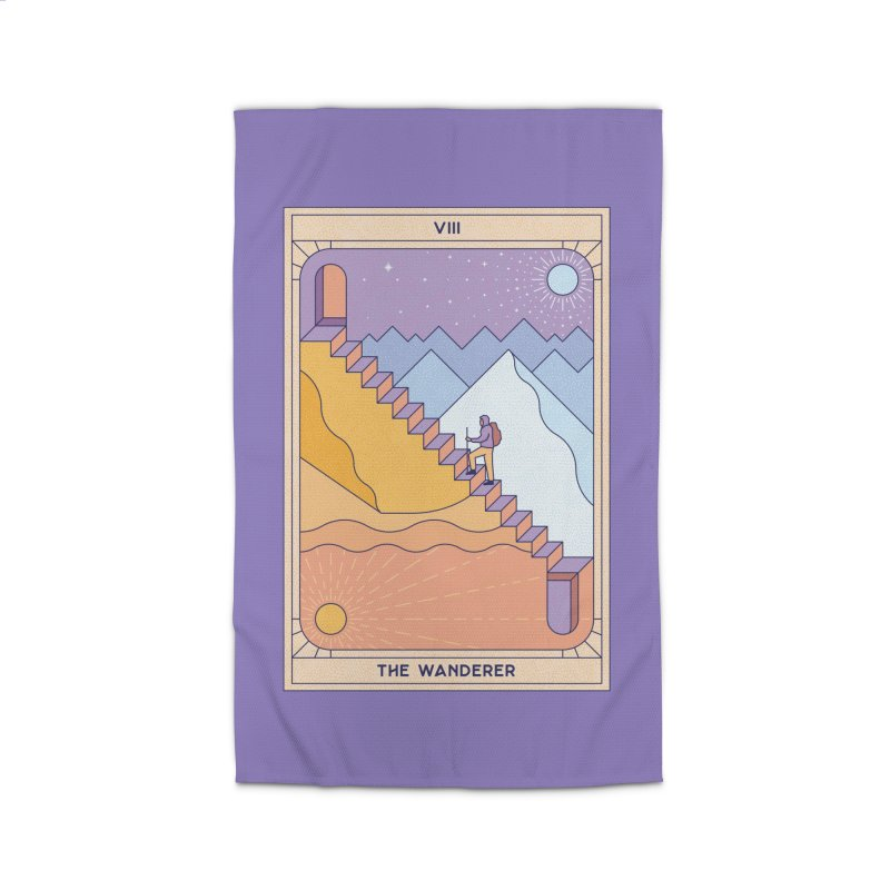 The Wanderer Home Rug by thepapercrane's shop