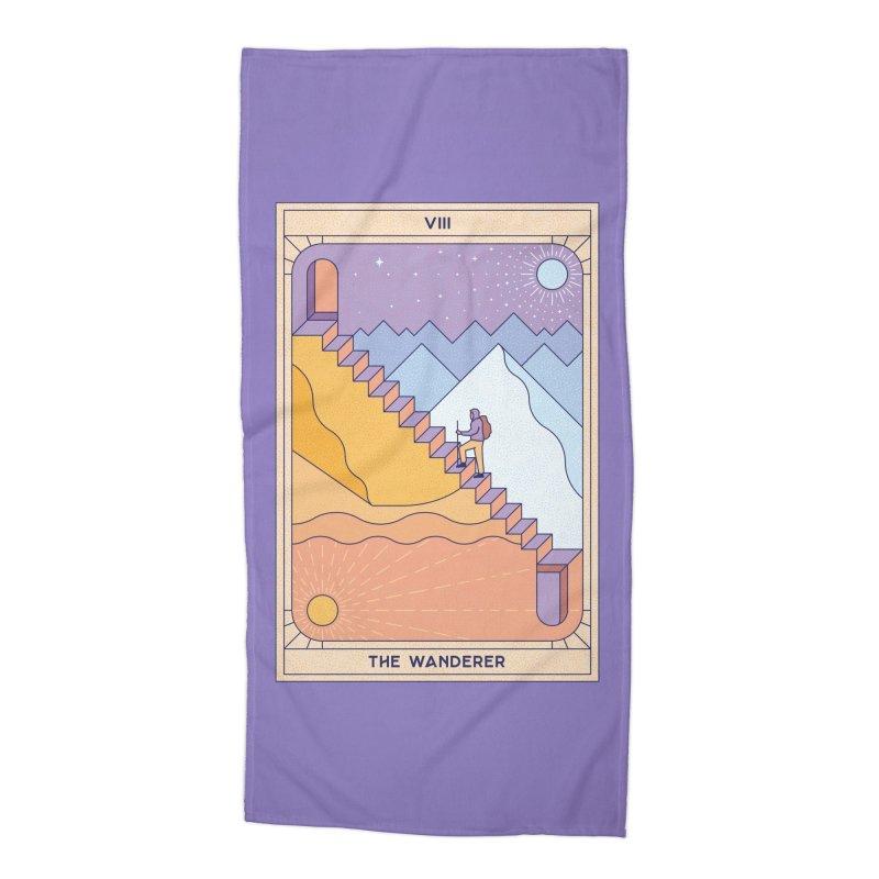 The Wanderer Accessories Beach Towel by thepapercrane's shop