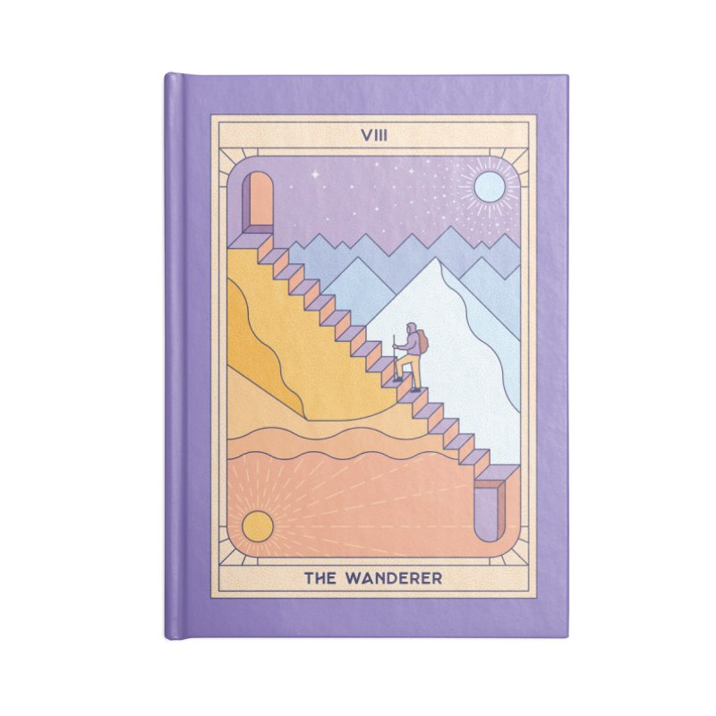 The Wanderer Accessories Notebook by thepapercrane's shop