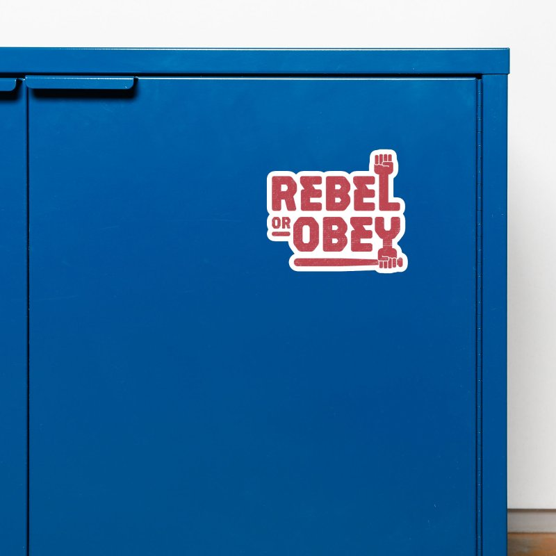 Rebel or Obey Accessories Magnet by thepapercrane's shop